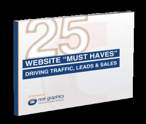 25 Website Must Haves eBook