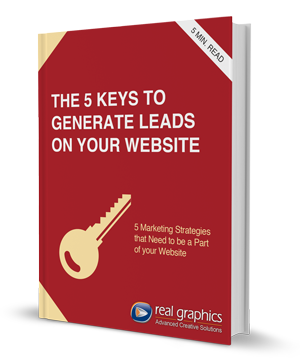 5 keys to generate leads on your website eBook