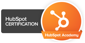 HubSpot Certification Logo - Real Graphics