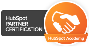 HubSpot Partner Certification Logo - Real Graphics
